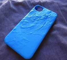3D Printed Geographical iPhone Case – $40