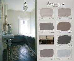 .Carte Colori kleurenkaart Betonlook - krijtverfonline