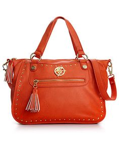 Marc Fisher Handbag, Tough Love Satchel - Handbags - Handbags & Accessories - Macy's
