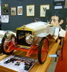 Hispano Suiza with small petrol engine