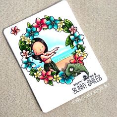 Birdie Brown Polynesian Paradise stamp set - Sandy Boone #mftstamps