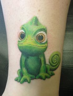 disneyink - Pascal by Danielle at Tattoo Lab in Dublin, CA