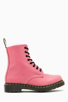 Serena 8 Eye Boot - Pink
