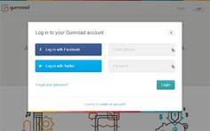 Social login Example 9: Weebly