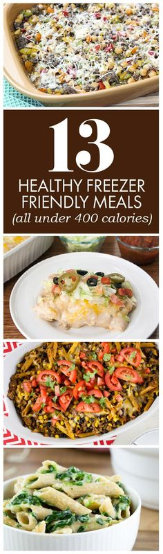 You're busy — we get it. Don't let lack of time interfere with healthy eating  for you and your family. Take the time to make a few of these delicious, freezer-friendly recipes, so you're never in a pinch. Popculture.com