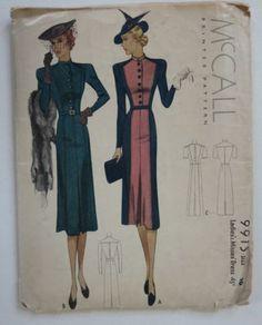 McCall 9915 | ca. 1938 Ladies' & Misses' Dress