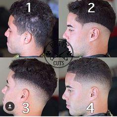 Steps of a skin fade Black Men Haircuts, Black Men Hairstyles, Boy Hairstyles, Self Haircut, Beard Haircut, Mens Clipper Cuts, Medium Skin Fade, Barber Tips, Hair And Beard Styles