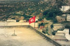 Tunisian Flag, Jradou(zaghouan),Tunisia.