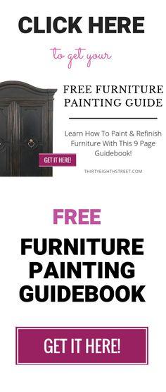 Thirty Eighth Street – Diy Furniture Ideas Diy Furniture Redo, Painted Bedroom Furniture, Diy Furniture Projects, Colorful Furniture, Cool Diy Projects, Furniture Refinishing, Repurposed Furniture, Painted Dressers, Refinished Furniture