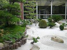 Resultado de imagem para paisajismo con piedras y arbustos