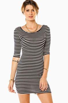 ShopSosie Style : Sail Along Mini Dress