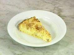 Tarta de ricotta con grumos (Quarktorte mit streusel)  Receta: Hna. Bernarda - El Gourmet- Dulces Tentaciones
