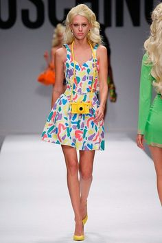 Milan Fashion Week Day 2 Moschino Spring/Summer 2015  Ready to wear  18 September 2014