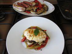 JHS / Gino D'Aquino    Pollo e verdure miste  grigliate Gino D'Aquino