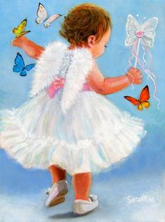 Susan Rios: Angel of The Month - June: Butterfly Angel