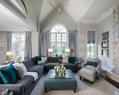 Photos Of The Peyton Model Home Designed By Jane Lockhart Interior Design.  Inspiring Living Room ...