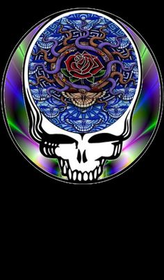 Grateful Dead Blue Rose