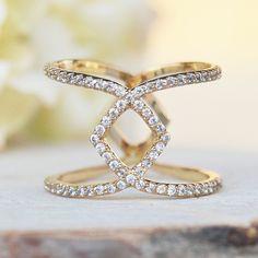 Star Crossed Ring - Gold