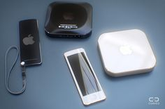 Apple TV mockup (Curved.de 005)