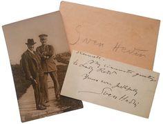 OnlineGalleries.com - Explorer - Sven Hedin - Photographic Postcard & Signatures