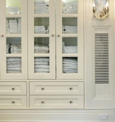 Built in Wall Cabinets for hallway | Sussan Lari Architect - entrances/foyers - built-in cabinets, built-in ...