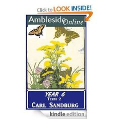 Ambleside Online poetry collection for Carl Sandburg: Year 6, Term 2.  For Kindle.