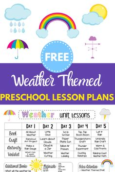 Lesson Plans For Toddlers, Free Lesson Plans, Preschool Lesson Plans, Preschool Curriculum, Free Plans, Kindergarten Units, Preschool Ideas, Preschool Crafts, Homeschooling