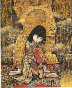 Kyosuke Tchinai, Japanese painter (born 1948)