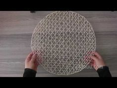 Now we will share the structure of the maliciously whipped American service … - Diy and Crafts Jute Crafts, Diy And Crafts, Felt Christmas Decorations, Container House Design, Basket Weaving, Boho Decor, Diy Art, Diy Home Decor, Diy Projects