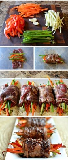 ... Steak Rolls on Pinterest | Glaze, Pan Seared Steak and Balsamic Steak