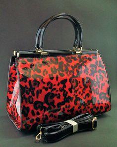 """Borsa Bauletto medio/grande leopardato 35x25x19cm """"no scarpe"""" """"no occhiali"""" in Abbigliamento e accessori, Donna: borse   eBay"""
