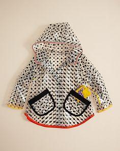 Stella McCartney Kids Girls' Dottie Raincoat - Sizes 2-6 | Bloomingdale's
