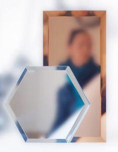 Mirrorize Hexagone / 20 x 20 cm - 18teiliges Set | Seletti | Spiegel