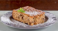 Fanourios Cake by Greek chef Akis Petretzikis. A super aromatic, moist, fluffy Greek cake that you can make for any special occasion or just for your family Greek Sweets, Greek Desserts, Greek Recipes, Raw Food Recipes, Fun Desserts, Food Network Recipes, Cake Recipes, Meatless Recipes, Greek Cake