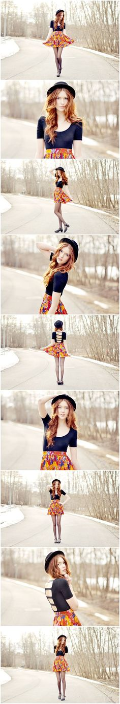 Fantastic series! Fashion inspired senior girl photography poses posing #fashionphotographyposes