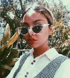 RIZZ-O (@rinta.v) on Instagram: SUNNIES + SOME GINGHAM #sunglasses #gingham #fashion