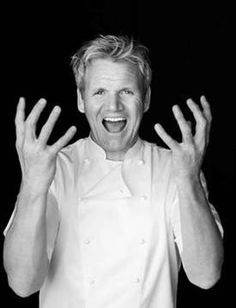 Gordon Ramsay highly successful tips on teamwork. A leader who is struggling . isn't sufficiently focused on asking the right questions.Gordon Ramsay is an English celebrity Chef. Growing up, his father was a violent Amy's Baking Company, Chef Gordon Ramsey, Kitchen Nightmares, Chefs, Hells Kitchen, Le Chef, Vincent Cassel, Raining Men, Christian Bale