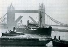 History of Steam Tug Brent London Pride, Merchant Navy, Old Port, Baltic Sea, Historical Society, Tower Bridge, History, World, Icebreakers
