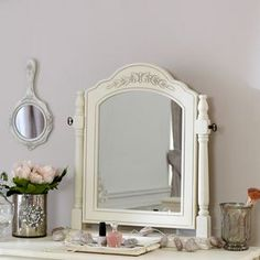 Belgravia Range - Cream Swing Mirror  Incredibly stylish traditional French country style Swing mirror