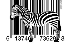 Zebra Barcode HD Wallpaper