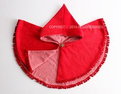 Kid's costume/ Kid's sewing pattern pdf/ kids red por hellodearkids