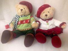 AVON ANIMATED CHARMING CAROLERS SINGING BOY GIRL BEAR DUO Christmas 2004 -VIDEO    eBay