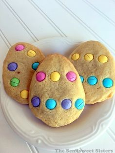 Easter Egg M&M's Cookies