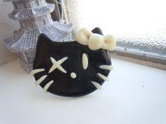 Hello Kitty Punk Ring Glow in the Dark by laminartz on Etsy, $6.99
