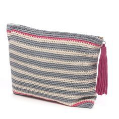 Laugoa crochet clutch bag