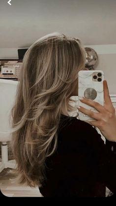 Haircuts For Long Hair, Long Hair Cuts, Long Hair Styles, Long Blonde Hairstyles, Blonde Haircuts, Blonde Hair Inspiration, Hair Inspo, Blonde Hair Looks, Ashy Blonde Hair