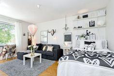 Salone e camera… 2 in 1! 20 idee per arredare un monolocale! Lasciatevi ispirare…