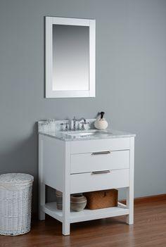 bathroom vanity combo set. Rubeza 24\ Bathroom Vanity Combo Set
