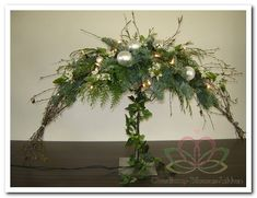 Shop www.nl of www. Christmas Is Coming, White Christmas, Christmas Wreaths, Christmas Crafts, Christmas Decorations, Christmas Tree, Holiday Decor, Xmas Flowers, Church Flowers