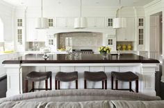 15 Large Kitchens Ideas Displaying Traditional White Design
